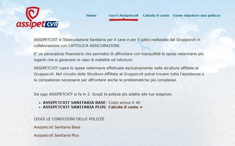 Assicurazione Cane Assipetcvit di Gruppocvit